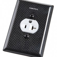 Furutech 104-S Single Carbon Fiber Receptacle Cover