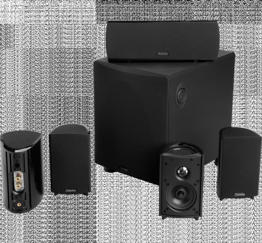Definitive Technology Pro Cinema 600 System Black