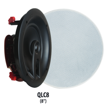 QLC8 8″ In-Ceiling Speakers