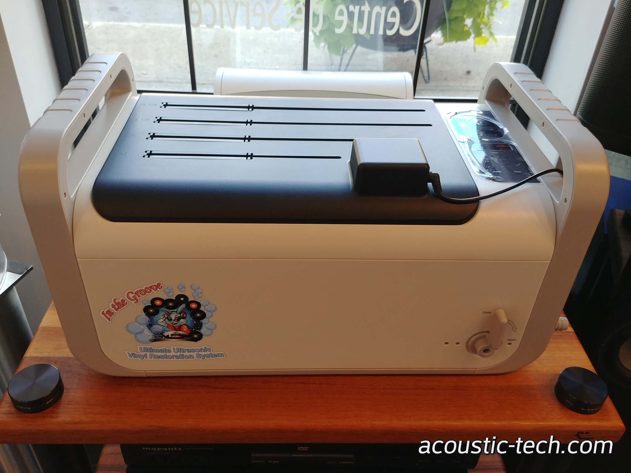 Kirmuss KA-RC-1  In The Groove Ultimate Ultrasonic Vinyl Restoration System