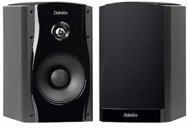 Studio Monitor 55 Bookshelf Speaker – Black