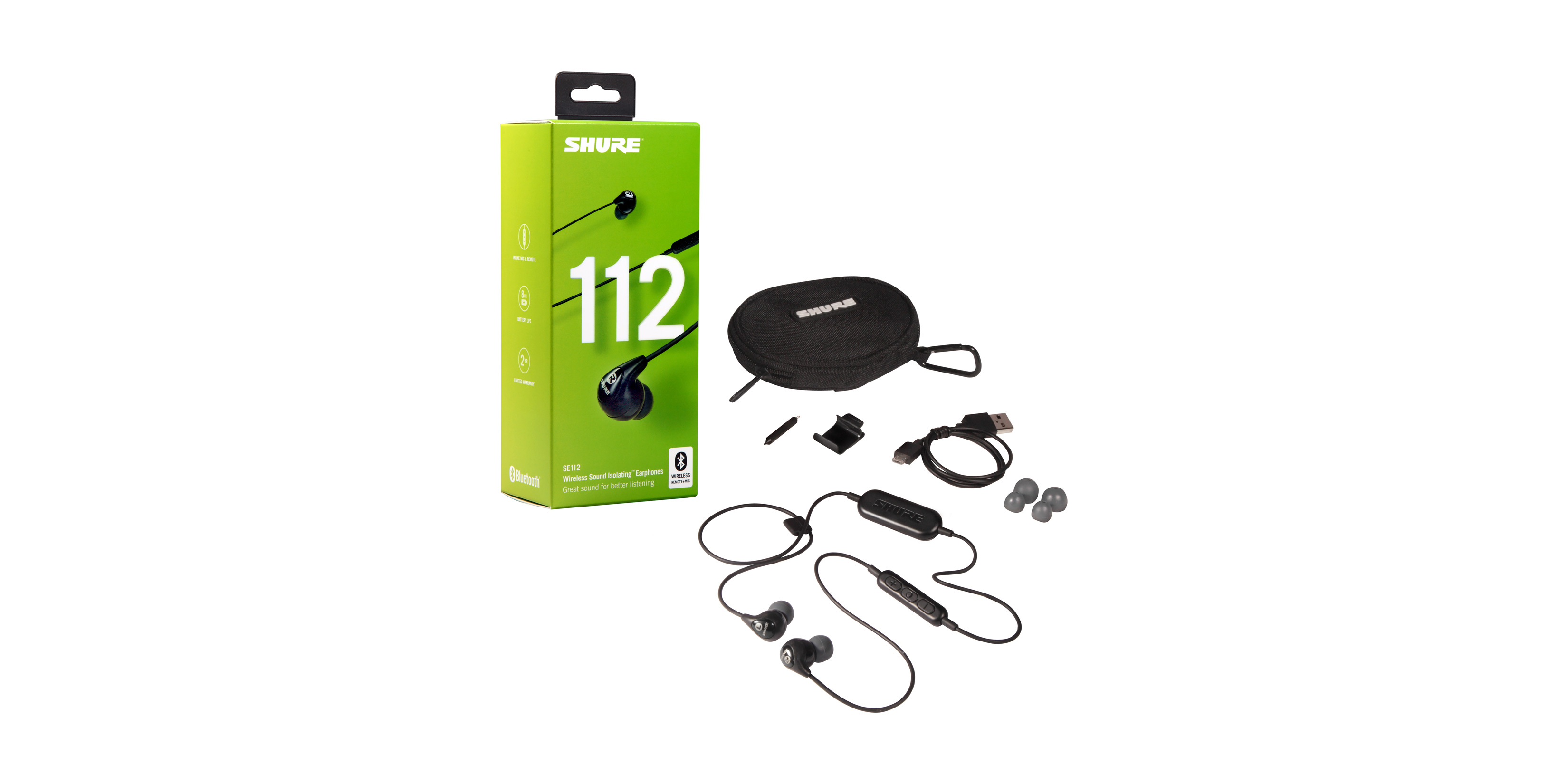 Shure SE112 Sound Isolating™ Earphones