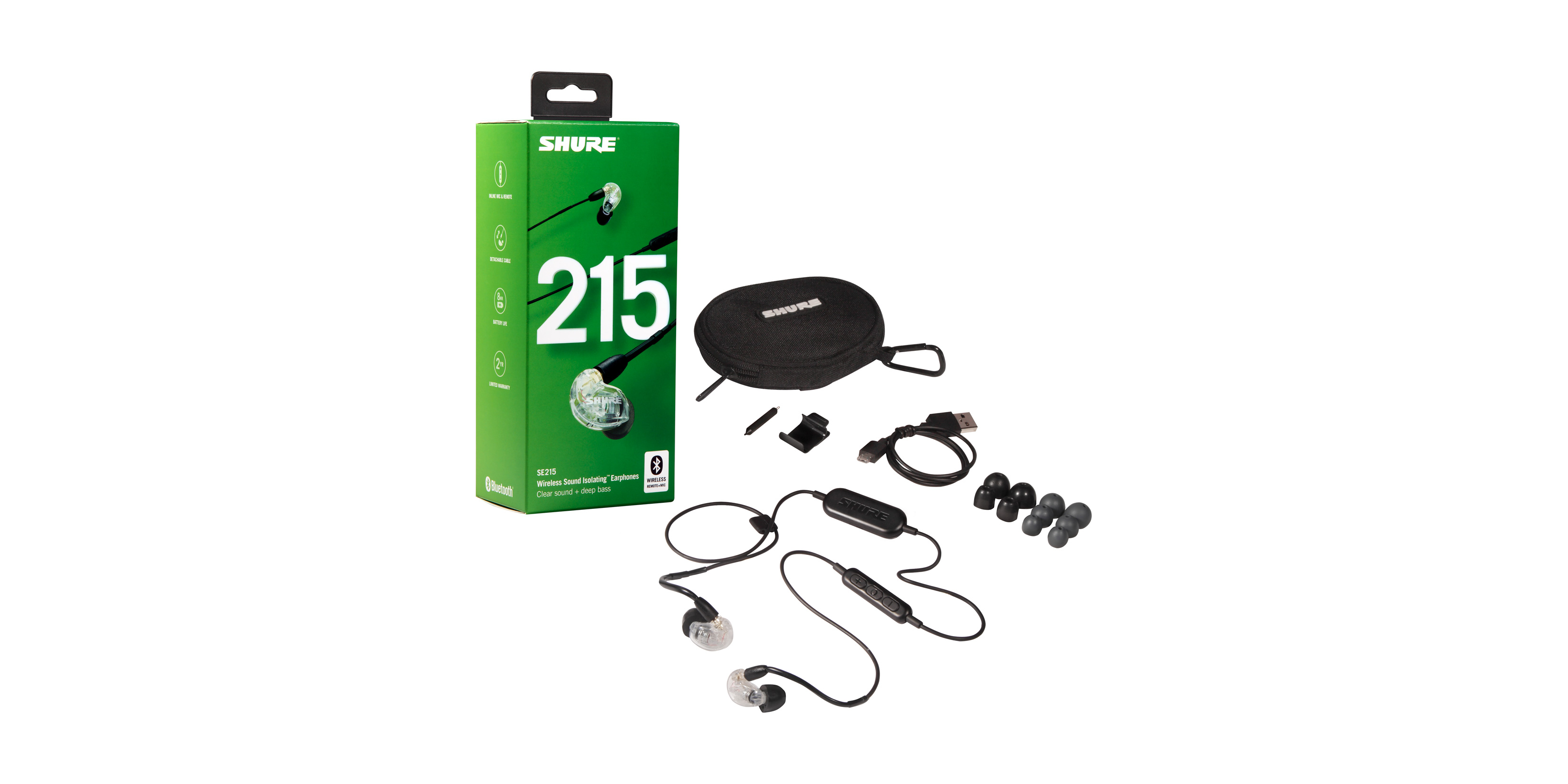 SE215 Sound Isolating™ Earphones