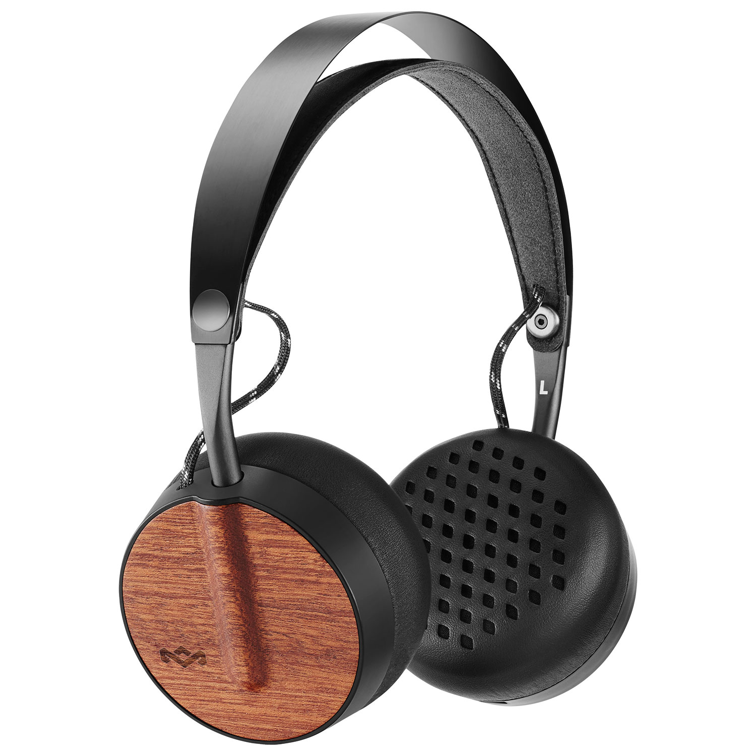 House Of Marley Buffalo Soldier On-Ear Bluetooth Headphones With Mic