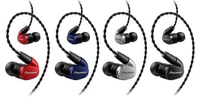 Pioneer SE-CH5T-K  In-Ear Stereo Headphones