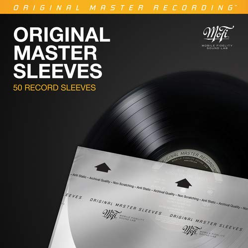MoFi Original Master Record Sleeves – 50 Pack